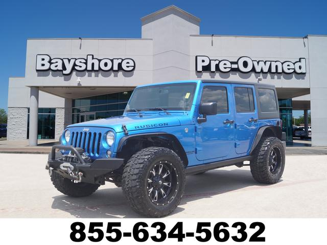 Certified Pre-Owned 2016 Jeep Wrangler Unlimited 4D SUV 4WD