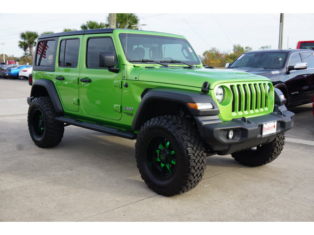Certified Pre-Owned 2020 Jeep Wrangler Unlimited 4D SUV 4WD