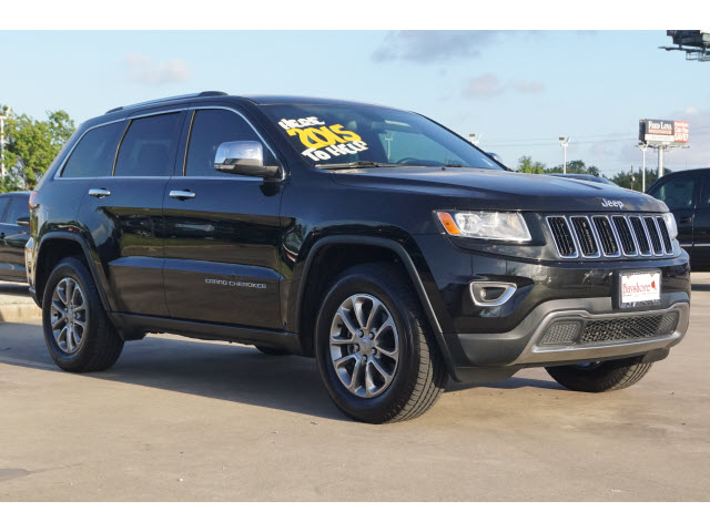 Pre-Owned 2015 Jeep Grand Cherokee 4D Utility