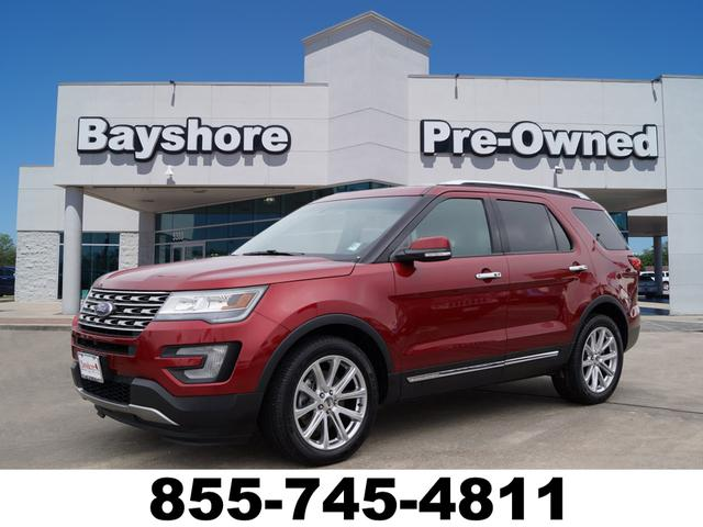 Pre Owned 2016 Ford Explorer 4d Suv Fwd