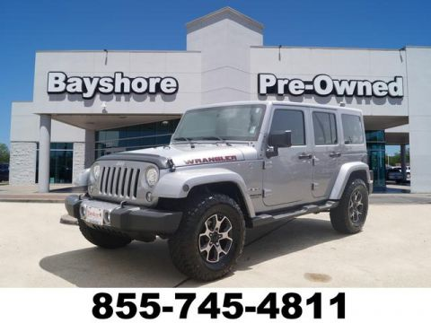 Pre-Owned 2017 Jeep Wrangler Unlimited 4D SUV 4WD