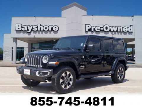 Pre-Owned 2018 Jeep Wrangler Unlimited 4D SUV 4WD