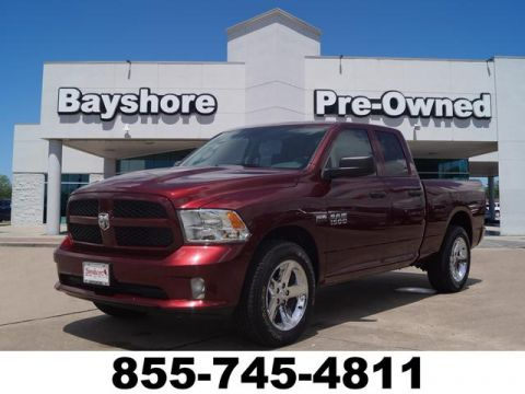 Certified Pre-Owned 2018 RAM 1500 Quad Cab 4WD SWB