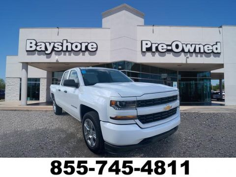 Pre-Owned 2017 Chevrolet Silverado 1500 Double Cab