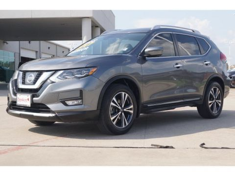 Pre-Owned 2017 Nissan Rogue 4D SUV FWD