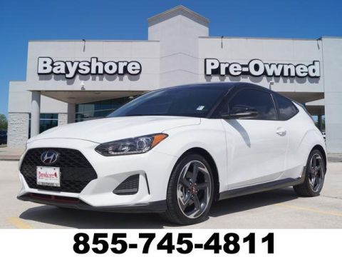 Pre-Owned 2019 Hyundai Veloster Turbo 3D Coupe at