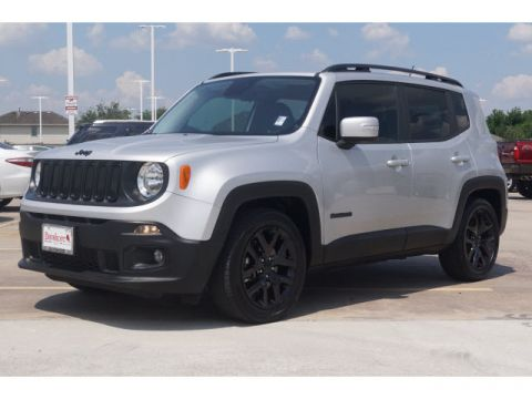 Pre-Owned 2017 Jeep Renegade 4D SUV FWD